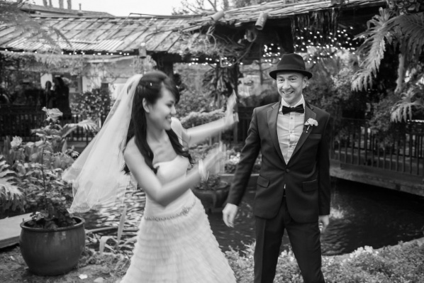 Real Wedding: Grace & Dan